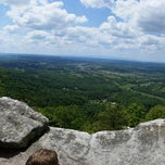 Photo taken at House Mountain Overlook by Mike N. on 5/18/2014
