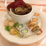 Photo taken at NJ Buffet: Hibachi Grill And Sushi by Sharon R. on 11/15/2013