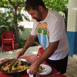 """Photo taken at Bar Restaurant Montsia Mar """"Ca la Flora"""" by Derek R. on 8/8/2014"""