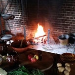 Photo taken at Pennsbury Manor State Park by Hannah H. on 10/28/2014