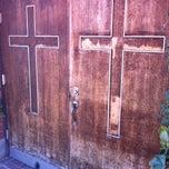Photo taken at Village Church by Carol 'Red E. on 10/29/2012