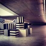 Photo taken at KIT - Kunst im Tunnel by Gaël G. on 5/12/2013