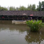 Photo taken at Saung Talaga by Novedial H. on 7/6/2013