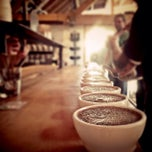 Photo taken at Sightglass Coffee by Steph B. on 4/3/2013