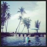 Photo taken at Lanta Pura Beach Resort by Matas on 3/22/2013