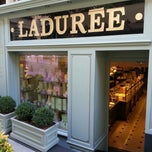 Photo taken at Ladurée by Çiğdem A. on 6/22/2013
