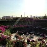 Photo taken at Parc Central Poblenou: Parque Infantil by Robin W. on 7/7/2013