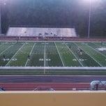 Photo taken at Jack H Britt Memorial Stadium by Tyler S. on 10/11/2013