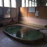Photo taken at 松原温泉 / 松原一区公民館 by noriwo105 on 3/30/2014