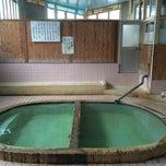 Photo taken at 松原温泉 / 松原一区公民館 by noriwo105 on 4/18/2014