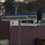 Photo taken at LIRR - Massapequa Park Station by Jax on 11/15/2012