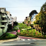 Photo taken at Lombard Street by Conor D. on 3/19/2013
