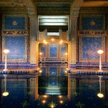 Photo taken at Hearst Castle Roman Pool by Marco B. on 1/4/2014