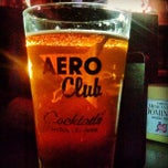 Photo taken at The Aero Club Bar by Ee Double-U @SDCA2HNLHI on 10/10/2013