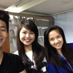 Photo taken at UERM Library by Mica S. on 10/4/2014