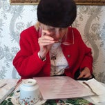 Photo taken at A Corner of England Tea Room by Julie A. on 1/23/2013