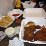 Photo taken at Heaven Sent Chicken by Woody M. on 11/16/2012