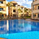 Photo taken at Creta Palm Hotel by Tomas B. on 4/22/2012