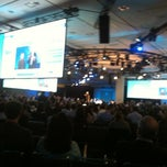 Photo taken at Cloudforce keynote w/ @benioff by Bret W. on 3/15/2012