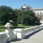 Photo taken at Burggarten by Martin W. on 8/19/2012