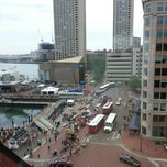 Photo taken at Boston Marriott Long Wharf by Timothy B. on 7/14/2012