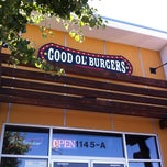 Photo taken at Good Ol' Burgers by Margaret H. on 6/30/2012