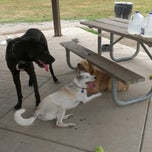 Photo taken at Lyon Oaks Bark Park by matt c. on 7/1/2012