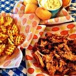 Photo taken at Dickey's Barbecue Pit by Papito on 6/29/2012