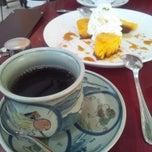 Photo taken at SAZA COFFEE by Takahiro on 3/9/2013