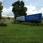 Photo taken at Sherwin Williams Plant by Aaron H. on 7/11/2013