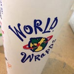 Photo taken at World Wrapps by Amanda W. on 3/13/2014