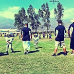 Photo taken at Rancho Cucamonga Pop Warner Field by @Backstage Gabe ♚. on 9/21/2013