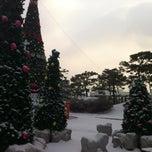 Photo taken at 청주대교 by Kangsoo H. on 12/25/2012