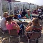 Photo taken at Strandpaviljoen Willy Zuid by Peter T. on 9/7/2014