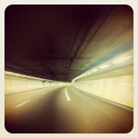 Photo taken at Tunnel A86 by Stephane M. on 10/16/2012