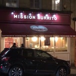 Photo taken at Mission Burrito by Michael D. on 1/28/2014