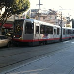 Photo taken at MUNI Metro Stop - Carl & Cole by Brandon D. on 2/21/2013