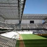 Photo taken at Arena da Baixada by Danilo G. on 6/30/2014