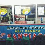 """Photo taken at Martabak Manis & Telor Special """"SANTIAGO"""" by araisa s. on 12/28/2013"""