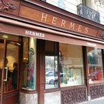 Photo taken at Hermès by Celine K. on 3/22/2013