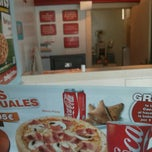 Photo taken at Telepizza Moncada by Fernando L. on 6/4/2013