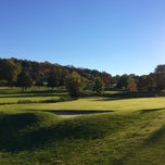 Photo taken at Newton Commonwealth Golf Course by Anthony S. on 10/12/2014