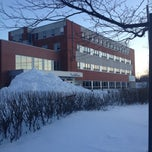Photo taken at Pensionnat Notre-dame-des-anges by Jocelyn B. on 12/28/2012