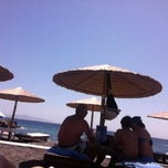 Photo taken at White Beach Snack Bar by Berrak M. on 6/30/2012