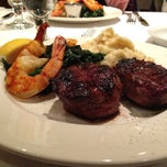 Photo taken at Vieux-Port Steakhouse (Restaurant du Vieux-Port) by Alan Z. on 3/21/2013