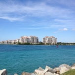 Photo taken at South Pointe Pier by Francesco M. on 4/27/2013