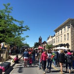 Photo taken at Milton Farmer's Market by Clayton J. on 6/14/2014
