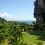 Photo taken at Railay Phutawan Resort by Ben M. on 2/24/2012