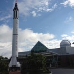 Photo taken at McAuliffe-Shepard Discovery Center by Walter E. on 8/28/2012