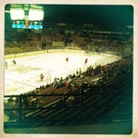 Photo taken at Worcester Sharks by Emily R. on 3/10/2012
